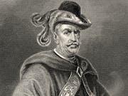 So stellte man sich Vogt Gessler nach Friedrich Schillers Erzählungen vor: streng und gebieterisch. (Bild: PD/Falkensteinfoto)
