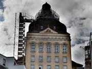 Der Suva-Hauptsitz in Luzern: Hier wird umgebaut. (Bild: Corinne Glanzmann, 25. September 2019)