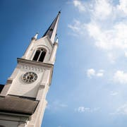 Die evangelische Stadtkirche in Kreuzlingen. Ihr Glockenschlag ist gemäss eines Gutachtens zu laut. (Bild: Reto Martin)