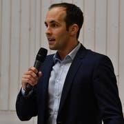 Moderator Philipp Gemperle.