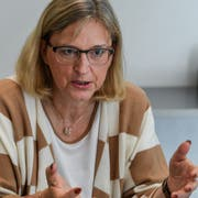 Hiltrud Dorothea Werner, fotografiert am Rande des Europa-Forums im KKL Luzern. Bild: Nadia Schärli (12. November 2018)