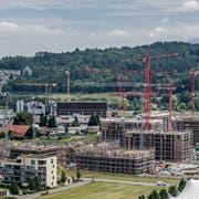 Die Bevölkerung wächst. Im Kanton Luzern wird deswegen gebaut. (Bild: Pius Amrein (Kriens, 27. Juni 2017))