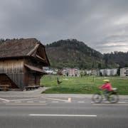 Blick aufs Dorf Wikon. (Bild: Pius Amrein, 11. April 2017)