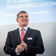 Schweizer Präzision ist eines der Markenzeichen Stadlers und seines Hauptaktionärs und Verwaltungsratspräsidenten Peter Spuhler. (Bild: Andrea Stadler (Bussnang, 19. März 2019))