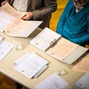 Sitzung des Gemeinderates Frauenfeld vom 13. Dezember 2017 zum Budget 2018. (Bild: Reto Martin)