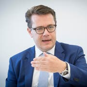 Der St.Galler Regierungsrat Benedikt Würth steigt nicht ins Rennen um einen Sitz im Bundesrat. (Bild: Ralph Ribi)