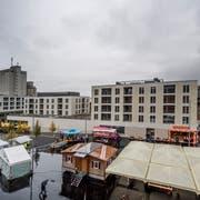 Der neue Dorfplatz in Malters wurde am Samstag eingeweiht. (Bilder: Pius Amrein, 27. Oktober 2018)