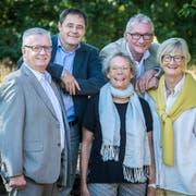 Die Jury des «Who is Who» der Thurgauer Zeitung 2018: Bernhard Koch, David Angst, Katharina Winiger, Rolf Müller und Sabine Ruf. (Bild: Reto Martin