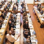 Die 63 Mitglieder des Stadtparlaments werden sich am 11.Dezember über das Budget 2019 beugen. (Bild: Ralph Ribi, 30. Oktober 2018))
