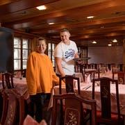 Das Traditionslokal Klösterli in Malters hat eine neue Führung erhalten. Im Bild Thomas Schenk und seine Frau Melody Schenk-Lam. Bild: Corinne Glanzmann (Malters, 14. Dezember 2018)