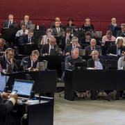 Der Kantonsrat hat die Finanzreform abtraktandiert. (Bild: Nadia Schärli (Luzern, 22. Oktober 2018))