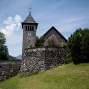 Die Pfarrkirche von Emmetten. (Bild Corinne Glanzmann, 22. Mai 2018.)