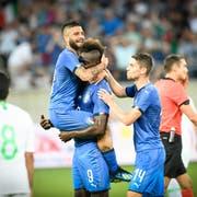 Mario Balotelli brachte Italien mit 1:0 in Führung. (Bild: Ralph Ribi)