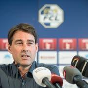 Der neue Trainer des FC Luzern René Weiler in der Swissporarena (Bild: Martin Meienberger / Freshfocus (Luzern, Freitag, 22. Juni 2018))