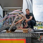 Roger Fuchs, Projektleiter Grossanlässe bei Eichhof, ist auch für die Bierversorgung zuständig. (Bild: Corinne Glanzmann (Luzern, 23. August 2018))