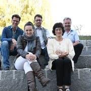 Der Vorstand: Andreas Müller, Dagmar Grigarova, Thomas Haubrich, Irène Manz und Stefan Zöllig. (Bild: Rita Kohn)