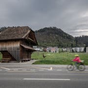 Blick auf das Dorf Wikon. (Bild: Pius Amrein, 11. April 2017)