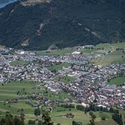 Blick vom Stanserhorn auf den Nidwaldner Hauptort. (Bild: Corinne Glanzmann, 19. Juli 2016)