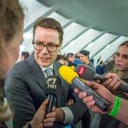 Benedikt Würth holte im ersten Wahlgang am meisten Stimmen. (Bilder:Michel Canonica)