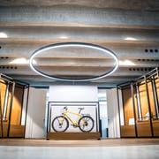 Blick in den neuen Showroom der Tour de Suisse Rad AG. (Bild: Andrea Stalder)