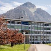 Der Neubau soll auf dem Sadec-Areal entstehen. (Bild: Nadia Schärli, Stansstad, 18. April 2019)