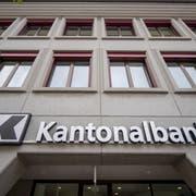 Der Hauptsitz der Urner Kantonalbank in Altdorf. (Bild: Urs Flüeler/Keystone, 7. Mai 2019)
