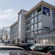 Das Areal der Firma Sadec. (Bild: Nadia Schärli, Stansstad, 18. April 2019)