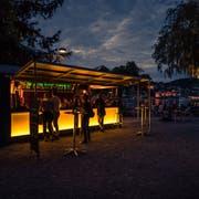 So wie auf dem Inseli (Bild) soll auch auf der Brüelmatte eine Buvette entstehen. (Bild: Roger Grütter, Luzern, 17. Juli 2017)