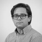 Tim Frei, Redaktor Regionalsport der «Wiler Zeitung». (Bild: Benjamin Manser)
