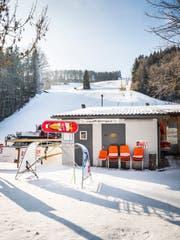 In Oberwangen hat es genügend Schnee. (Bild: Andrea Stalder)