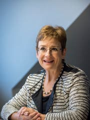 Die Pfyner Gemeindepräsidentin Jacqueline Müller. (Bild: Andrea Stalder)