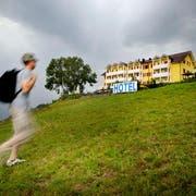 Das Hotel Himmelrich oberhalb von Kriens. Archivbild LZ/Pius Amrein