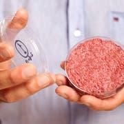 Ein Burger, der aus Zellen gezüchtet wurde. (Bild: PD)