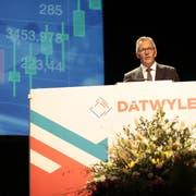Dätwyler-Verwaltungsratspräsident Paul Hälg an der Generalversammlung des Unternehmens im Frühling dieses Jahres. (Bild: Florian Arnold, Altdorf, 12. März 2019)