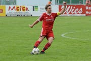 Bütschwil-Captain Daniel Fäh gehörte bem Sieg gegen Pfyn zu den Torschützen. (Bild: Beat Lanzendorfer)