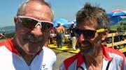André Hitter und Gerry Klarer sind aus der Region Weinfelden in den Hinterthurgau pedalt.