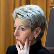 Aktuell St.Galler Ständerätin und schon bald Bundesratskandidatin? Karin Keller-Sutter. (Bild: Keystone)
