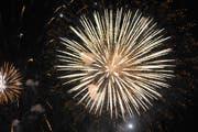 Rund um den Sarnersee kann man sich am 1. August eines Feuerwerks erfreuen. (Symbolbild: Robert Hess)