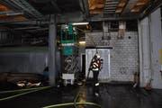 50 Mitarbeiter der Feuerwehr Cham standen im Einsatz. (Bild: Zuger Polizei)