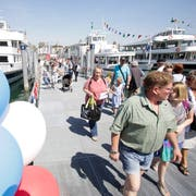 Am Hafenfest zieht Romanshorn besonders viele Gäste an. (Bild: Donato Caspari, April 2018)