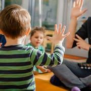 Der Stadtrat vermutet, dass rund 250 Kleinkinder in der Stadt Luzern eine Sprachförderung nötig haben. (Symbolbild: Getty)