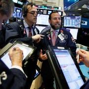 Spezialisten an der New Yorker Börse. (Bild: Richard Drew/AP (14. November 2018))
