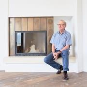 Hochhaus-Eigentümer Nicolas von Schumacher im Penthouse. (Bilder: Jakob Ineichen (Luzern, 9. August 2018))