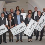 Der 14.-Carl-Stürm-Preis geht an Vereine, die sich vor allem im Winter für die Region Rorschach verdient machen. (Bild: Christof Sonderegger)