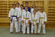 Die Buchser Judokas waren an der Ostschweizer Einzelmeisterschaft erfolgreich. (Bild: PD)