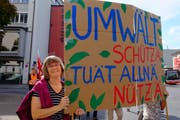 Chantal Vetsch-Niklaus (51) aus Frauenfeld. (Bild: Rahel Haag)