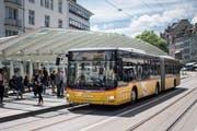 Die Tricksereien der Postauto AG haben im Grossraum St.Gallen 7,5 Millionen Franken Schaden hinterlassen. (Bild: Benjamin Manser)