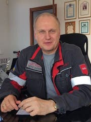 Azovstal-Chef Enver Tkitischwili. (Bild: Paul Flückiger)