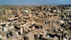 Die komplett zerstörte Altstadt von Mossul. (Bild: Philipp Schmidli (13. Juli 2018))