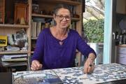 Marianne Burger Studer ist eine leidenschaftliche Puzzlerin. (Bild: Timon Kobelt)